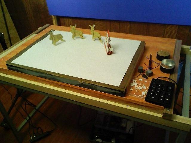 すべての折り紙 折り紙 サンタブーツ : パペットBOX【ORIGAMI WINTER】
